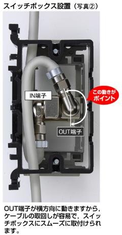 スイッチボックス装置(写真2)